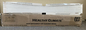 Healthy Climate HE Air Cleaner Media Filter Lennox X0445, Aprilaire 201 MERV 10
