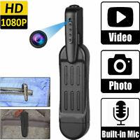 1080P HD Pocket Pen Camera Hidden Spy Mini Portable Body Video Recorder DVR Cam