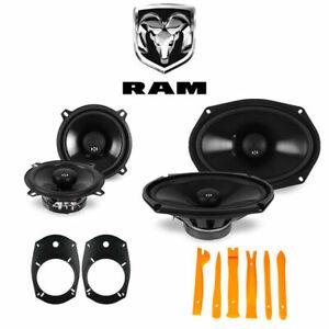 Dodge Ram Truck 2500/3500 2006-2010 OEM Speaker Upgrade NVX Speakers
