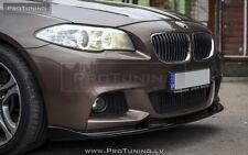 BMW F10 F11 M Sport Front Bumper spoiler HM style lip Tech diffuser M-sport