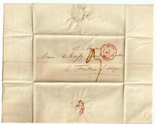 1840 FLS Mons to Senateur François Haussy avocat Fontaine l'Eveque Belgium