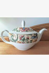 "Royal Doulton Everyday Fine China ""Jacobean"" Teapot 1996 TC1216"