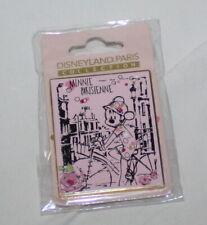 Disneyland Paris Pin Minnie on Bicycle Parisienne Mint Disney