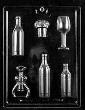 Wine Kit Cork Glass Blottles mold Chocolate Candy vino mother's day tasting