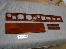 TVR 280i 4 piece wood set, dash, dashboard, Walnut burl, #TVR280i-122