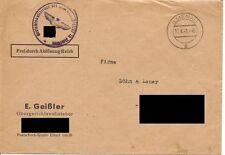 Brief / Amtl. Schreiben / ILMENAU 17.6.41 / Gerichtsvollzieher / 1941