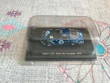 Voiture Miniature Renault Alpine A 110 Rallye de l'Acropole 1973 1/43 Eligor