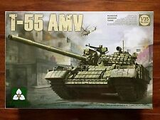 TAKOM 1/35 RUSSIAN T-55 AMV MEDIUM TANK PLASTIC MODEL KIT ITEM  # 2042  F/S