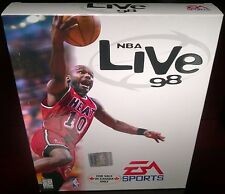 NBA Live 98, Basketball, EA Sports (PC, 1998) NISB