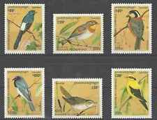Timbres Oiseaux Cambodge 1325/30 ** lot 16626