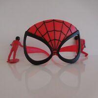 1 paire de lunettes masque l'Araignée SPIDERMAN + 2 figurines personnages