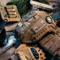 OneTigris Tactical Camouflage Helmet Coverfor Ops-Core FAST PJ Helmet Size M