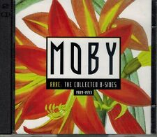 """MOBY """"RARE COLLECTED B-SIDES 1989-1993"""" REMIXES 2CD ZARAY JAM SPOON BARRACUDA"""