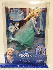 "Disney FROZEN - ICE SKATING ELSA Doll - She Really ""Skates"" -  Ages 4 & up"