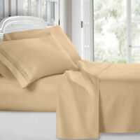 Ultra-Soft Brushed Microfiber - 4 Piece 1800 Series Deep Pocket Bed Sheet Set