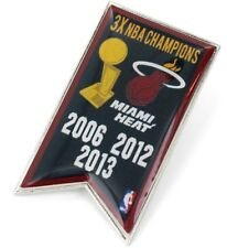 MIAMI HEAT - CHAMPIONS - LAPEL/HAT PIN - BRAND NEW - NBA-PN-1064-02