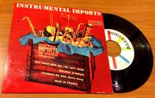 "JOE REISMAN ORCHESTRA - INSTRUMENTAL IMPORTS - 7"" EP (Italy 1958) EX+/VG++"
