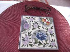 Coleccionable Floral Azulejo j&y crossman Devon