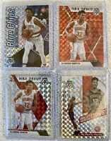 2019-2020 PRIZM MOSAIC 4x De'ANDRE HUNTER LOT BASE RED BLUE CHIPS HAWKS ROOKIE