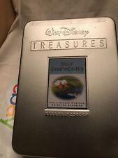 Silly Symphonies TIN CASE 2 DVD Set Walt Disney Treasures OOP Used Rare HTF