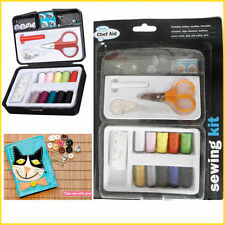 9 Assorted Sewing Set Needle Threader Button Pin Tape Craft Fabric Craft Stitch