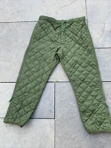 Falklands Era British Army Cold Weather Quilted Trouser Liner Size 90/106 CT4B