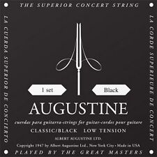 AUGUSTINE BLACK LABEL - MUTA CORDE CHITARRA CLASSICA Low Tension