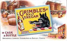 Advertising. Grimble's Malt Vinegar. Boar. London, Edinburgh & Batley Breweries.