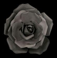 Negras Flor Rosa Grande - Romántico GOTHIC rosendeko