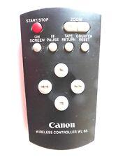 CANON CAMCORDER REMOTE CONTROL WL-85