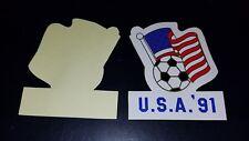 1991 USA Womens Soccer Sticker Unused FIFA World Cup Championship Football China