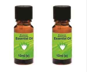 2 x 10ml  Peppermint Essential Oil 10ml - 100% Pure