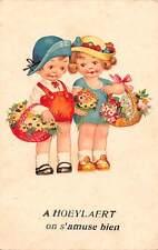 "Fantasy girls, flowers baskets, chat ""A Hoeylaert on s'amuse bien"""