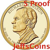 2016 S Richard Nixon Presidential Golden Proof Dollar Best Grade Coin 16P3 16PH