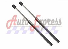 SET OF 2 NEW FRONT HOOD LIFT SUPPORTS SHOCK STRUTS PROP ROD GAS DAMPER PAIR BOOT