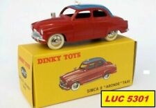 Véhicules miniatures Dinky cars 1:43