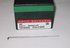 Lot of 4000 Groz-Beckert Felt Needles 15x18x32x3 FCG4 G 62939 B2Q354 JHF 616171
