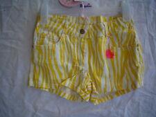 SO 15 -pampolina cebra AMOR Shorts, amarillo blanco talla 140