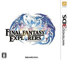 USED Final Fantasy Explorers-3ds Family&Kids Fun Fantasy Action Adventure Japan