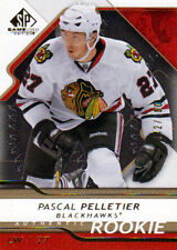 08-09 SP Game Used GOLD xx/100 Made! Pascal PELLETIER #148 - Blackhawks Rookie