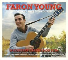 FARON YOUNG COUNTRY HITS & FAVOURITES - 2 CD BOX SET - SWEET DREAMS & MORE