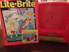 Pink Lite Brite With Vintage Lite Brite Fun For All Refill Collectible Gift
