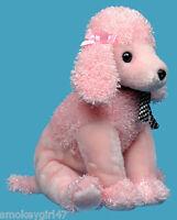 Ty Beanie BUDDY Plush Brigitte the Pink Poodle Dog ~ Brand New w/tags
