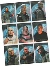 """Stargate Season 7 (Seven) - 9 Card """"In The Line Of Duty Teal'C"""" Chase Set T1-T9"""