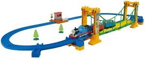 TAKARA TOMY Thomas & Friends Plarail Suspension Bridge Set Kids Train Toy Japan