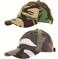 Boys Girl Childrens Hat Kids Army Military Cap Baseball Camouflage Camo 6-12 Yrs