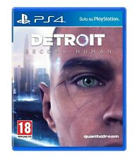 DETROIT BECOME HUMAN PS4 - PLAYSTATION 4 - ITALIANO - PROMO !