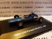 Voiture 1/43 Eligor/ UH Hachettes : ALPINE & renault sport : A 340 Formule F 69
