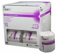 New Coban 2 Layer Comfort Layer 10Cm X 3.5M Lymphoedema 1pc