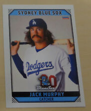 Jack Murphy 2018/19 Aussie Baseball League-Sydney Blue Sox-Oklahoma City Dodgers